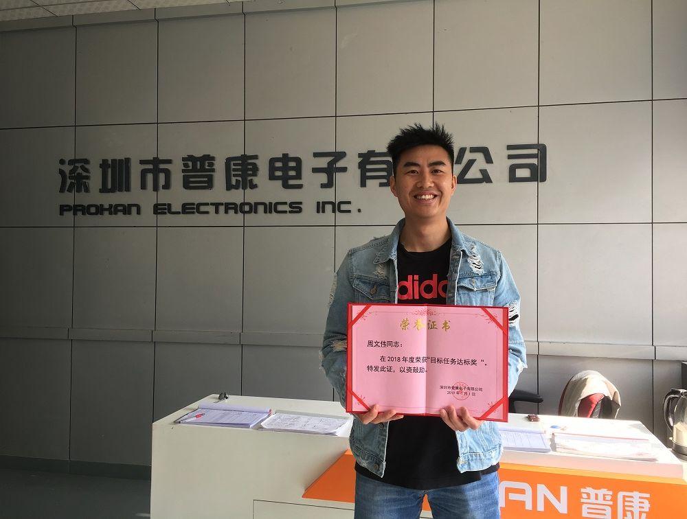 2018 Company award