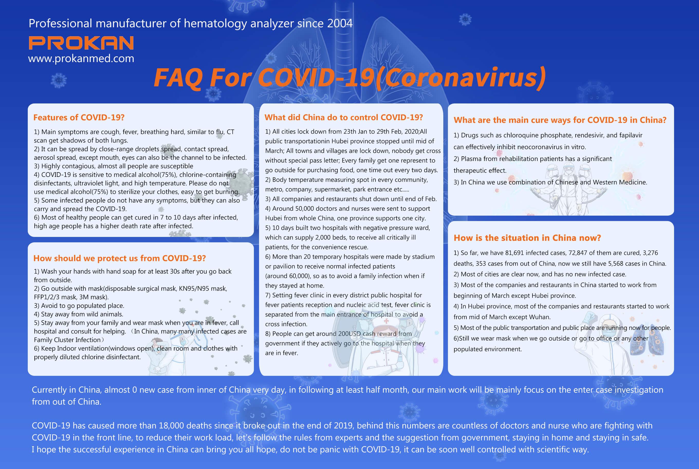 FAQ For COVID-19